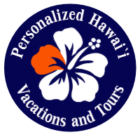 Personalized Hawaiian Vacations and Tours logo