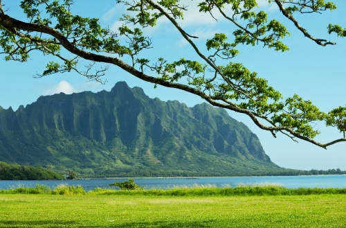 image of Oahu from Green and Blue Private Oahu Tour